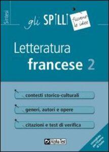 Libro Letteratura francese. Vol. 2 Francesca Desiderio