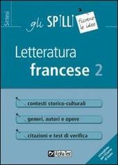 Letteratura francese. Vol. 2