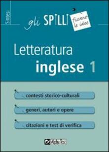 Daddyswing.es Letteratura inglese. Vol. 1 Image
