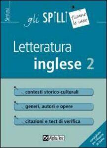 Libro Letteratura inglese. Vol. 2 Laura M. Giusti