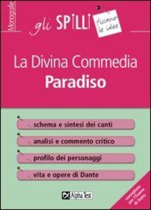 Libro La Divina Commedia: Paradiso Marina De Benedittis , Sabrina Torno