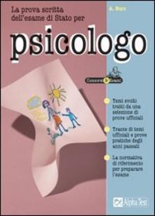 Winniearcher.com La prova scritta dell'esame di Stato per psicologo Image