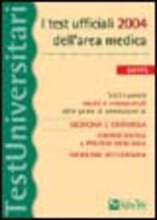 Lpgcsostenible.es I test ufficiali 2004 dell'area medica. Tutti i quesiti risolti e commentati delle prove di ammissione a: medicina e chirurgia, odontoiatria e protesi dentaria... Image