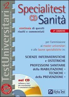 Specialitest sanità. Con CD-ROM - Paolo C. Motta,Renato Sironi,Silvia Tagliaferri - copertina