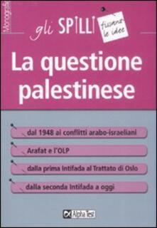 Listadelpopolo.it La questione palestinese Image