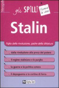 Foto Cover di Stalin, Libro di Angela Feo, edito da Alpha Test