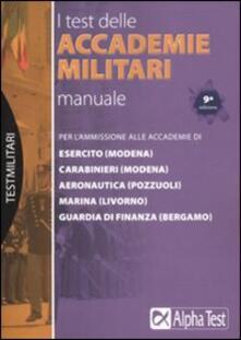 Fondazionesergioperlamusica.it I test delle accademie militari. Manuale Image