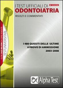 Milanospringparade.it I test ufficiali di odontoiatria 2003-2008 Image