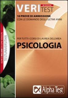 Fondazionesergioperlamusica.it Veritest. Vol. 7: 10 prove di ammissione con le domande degli ultimi anni. Image