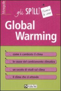 Libro Global warming Andrea Giuliacci