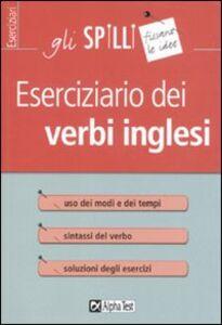 Libro Eserciziario dei verbi inglesi Anthony J. Zambonini