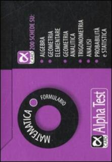 Writersfactory.it Matematica. Formulario Image