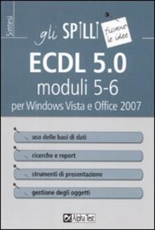 Voluntariadobaleares2014.es ECDL 5.0 moduli 5-6 per Windows Vista e Office 2007 Image