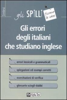 Antondemarirreguera.es Gli errori degli italiani che studiano inglese Image