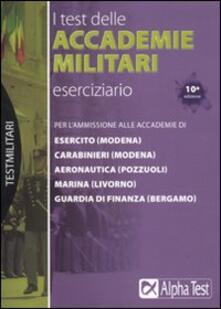 I test delle accademie militari. Eserciziario.pdf