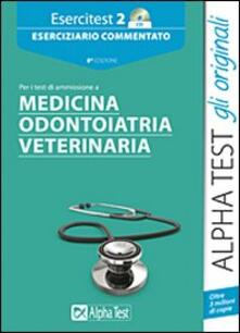 Winniearcher.com Esercitest. Con CD-ROM. Vol. 2: Eserciziario commentato per i test di ammissione a medicina, odontoiatria, veterinaria. Image