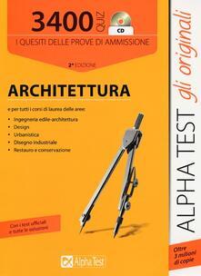 Winniearcher.com 3400 quiz. Architettura. Con CD-ROM Image