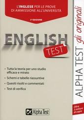 Englishtest. L'inglese per le prove di ammissione all'universita