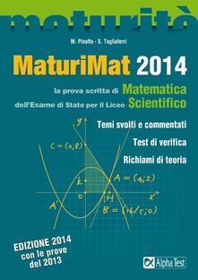 Voluntariadobaleares2014.es MaturiMat 2014. La prova scritta di matematica dell'esame di Stato per il Liceo scientifico Image