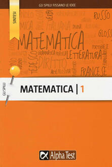 Camfeed.it Matematica. Vol. 1 Image