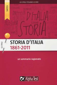 3tsportingclub.it Storia d'Italia (1861-2011) Image