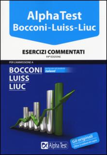 Scacciamoli.it Alpha Test. Bocconi, Luiss, Liuc. Esercizi commentati Image