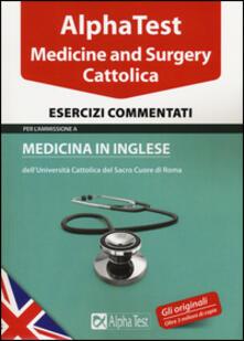 Fondazionesergioperlamusica.it Alpha test. Cattolica. Medicine and Surgery. Esercizi commentati Image