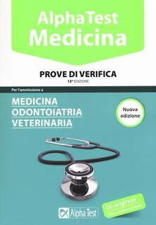 Equilibrifestival.it Alpha Test. Medicina, odontoiatria, veterinaria. Prove di verifica Image