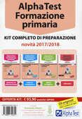 Libro Alpha Test. Formazione primaria. Kit completo di preparazione. Con software di simulazione. Con software di simulazione