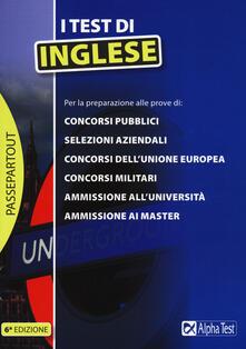Voluntariadobaleares2014.es I test di inglese Image
