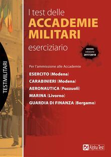 Voluntariadobaleares2014.es I test delle accademie militari. Eserciziario Image
