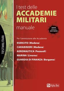 Secchiarapita.it I test delle accademie militari. Manuale Image