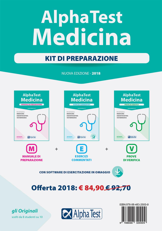 Alpha test medicina kit di preparazione con software di for Test di medicina simulazione