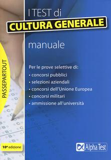 Radiospeed.it I test di cultura generale. Manuale Image