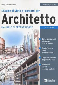 Listadelpopolo.it L' esame di Stato e i concorsi per architetto. Manuale di preparazione Image