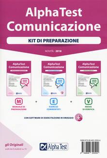 Alpha Test. Comunicazione. Kit di preparazione. Con Contenuto digitale per download.pdf