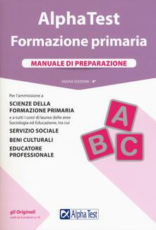 Amatigota.it Alpha Test. Formazione primaria. Manuale di preparazione. Con Contenuto digitale per accesso on line Image