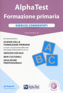 Fondazionesergioperlamusica.it Alpha Test. Formazione primaria. Esercizi commentati. Con software Image