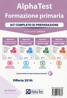 Fondazionesergioperlamusica.it Alpha Test. Formazione primaria. Kit completo di preparazione. Con Contenuto digitale per download e accesso on line Image
