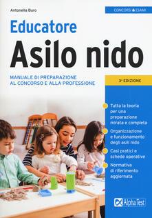 Librisulladiversita.it Educatore asilo nido. Manuale di preparazione al concorso e alla professione Image
