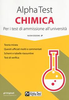 Promoartpalermo.it Alpha Test chimica. Per i test di ammissione all'università Image