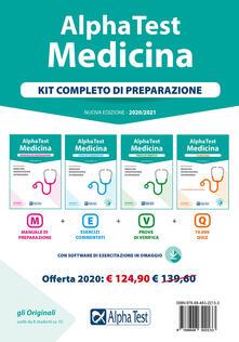 Festivalpatudocanario.es Alpha Test. Medicina. Kit completo di preparazione: Manuale di preparazione-Esercizi commentati-Prove di verifica-10.000 quiz. Con software di simulazione Image