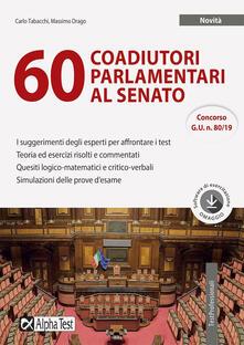 Antondemarirreguera.es 60 coadiutori parlamentari al Senato. Con software di simulazione Image