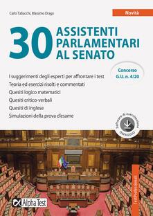 Letterarioprimopiano.it 30 assistenti parlamentari al Senato. Con software di simulazione Image