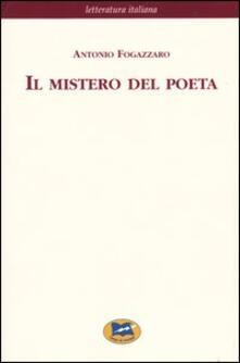 Il mistero del poeta - Antonio Fogazzaro - copertina