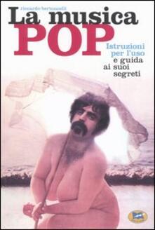 Premioquesti.it La musica pop. Istruzioni per l'uso e guida ai suoi segreti Image