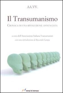 Ipabsantonioabatetrino.it Il transumanismo. Cronaca di una rivoluzione annunciata Image