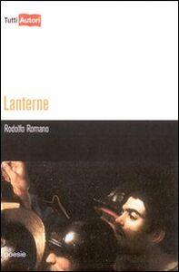 Libro Lanterne Rodolfo Romano