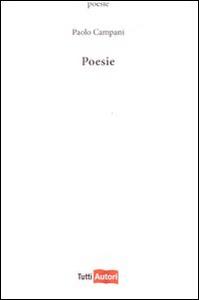 Libro Poesie Paolo Campani