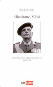 Gianfranco Chiti - Sandro Bassetti - copertina